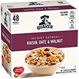 Quaker Quaker Instant Oatmeal Raisin, Date, Walnut 48ct, 48 Count