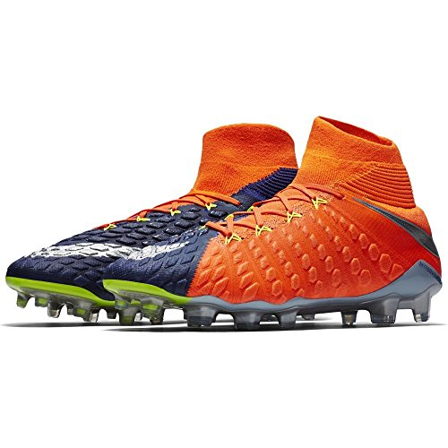 Nike Hypervenom Phantom Iii Df Fg - deep royal blue/chrome-total c