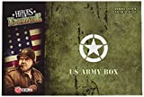Heroes of Normandie Expansion: US Army Box by Devil Pig Games