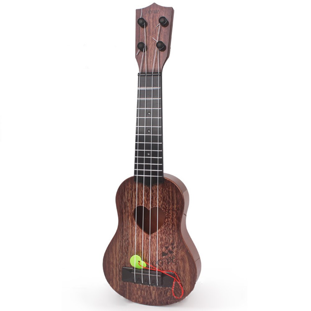 Etbotu Guitar Educational Music Instruments Toy, Simulation Playable Ukulele for kids, 4 Strings