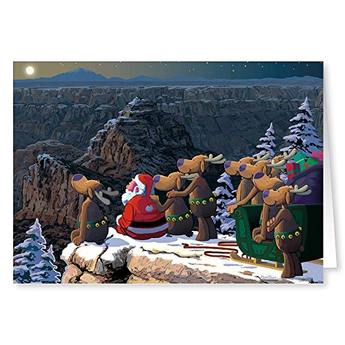 (Grand Canyon Christmas Card 18 Cards & Envelopes)