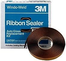 "3M 08625 Window-Weld 1/8"" x 1/4"" x 30' Round Ribbon Sealer Roll"