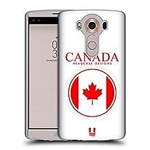 Head Case Designs Canadian Flag Flag Patches Soft Gel Case for LG G4 / H815 / H810