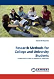 Research Methods for College and University Students, Daniel W Kasomo, 3838341058