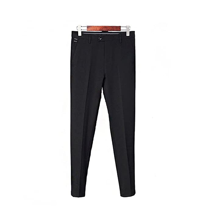 Amazon.com: Log Swit para hombre pantalones de vestir formal ...