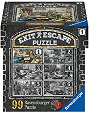 Ravensburger EXIT Pussel 16877 – i varuhuset kök – 99 bitar pussel för vuxna och barn från 14 år