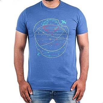 Bucks Printed T-Shirt Space Shape For Men