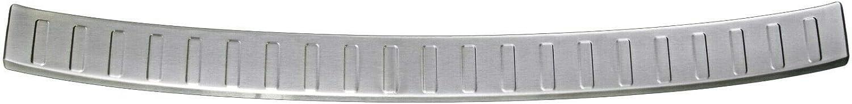 dal 2015 con Bordi smussati Recambo CT-LKS-0780 Protezione per paraurti in Acciaio Inox Opaco per Audi A4 B9 8W Avant Large