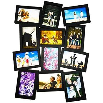 Amazon.com - 21-Photo Collage Frame (Black) - Picture Frames