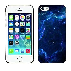 TopCaseStore / la caja del caucho duro de la cubierta de protección de la piel - Space - Apple iPhone 5 / 5S