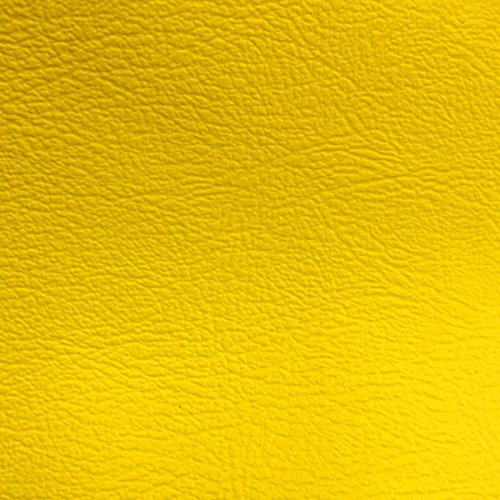 Marine Vinyl Waterproof 54 Inch- Fabric by the Yard (F.E.) (Yellow) ()
