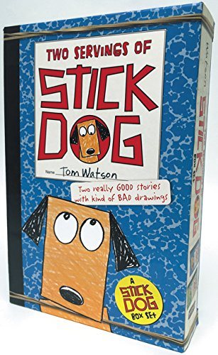 Stick Dog Box Set: Two Servings of Stick Dog: Stick Dog and Stick Dog Wants a Hot Dog