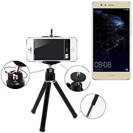 K-S-Trade Smartphone Trípode/Soporte Móvil/Trípode como Compatible con Huawei P10 Lite Dual-SIM. Trípode De Aluminio/Trípode con Soporte para El Teléfono Móvil, Universal para Todos Los Teléfonos: Amazon.es: Electrónica