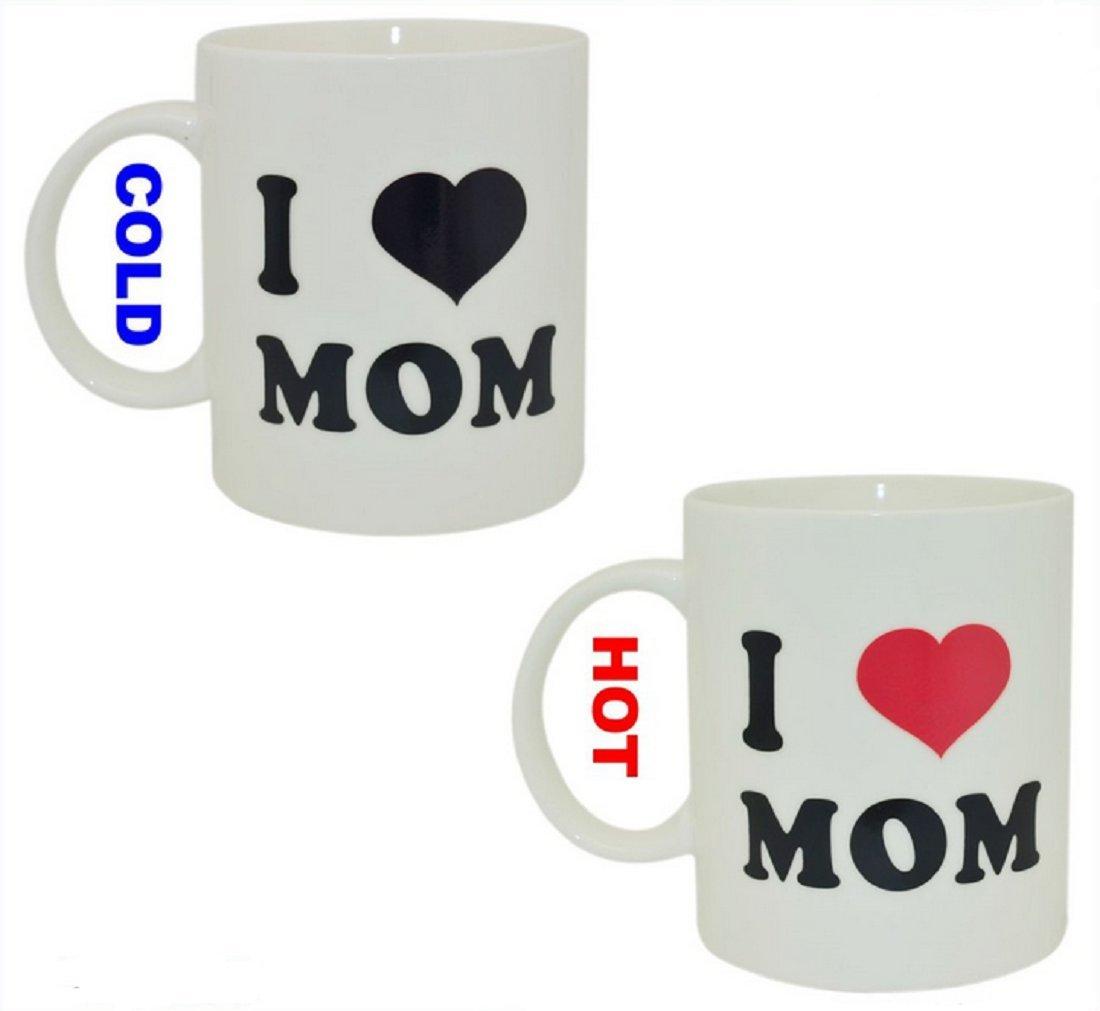 I Love Mom Heat Change Mug,