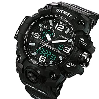 Relojes de Hombre de Moda 2018 Sport Water Resistant Watch Reloj Digital Men RE0088