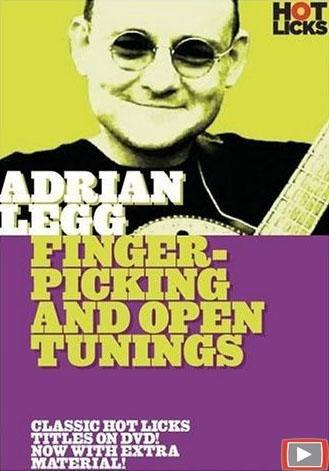 Fingerpicking Guitar Video (Adrian Legg: Fingerpicking and Open Tunings)