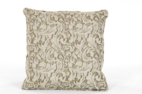 Classic Slipcovers Pillow - Classic Slipcovers 18-Inch by 18-Inch Pillow, Olive