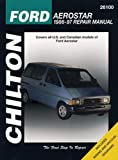 Ford Aerostar, 1986-97 (Chilton Total Car Care Series Manuals)