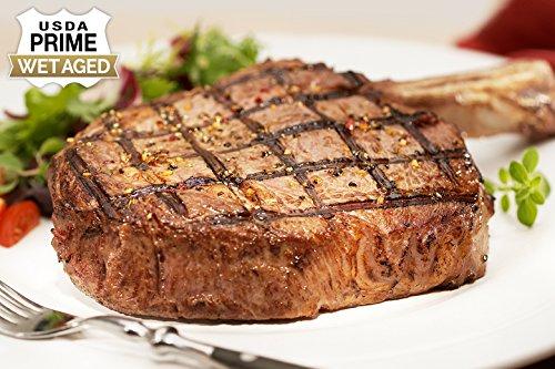 USDA Prime - 4 (16oz) Bone-In Ribeye - Chicago Steak Company - VFSP156 4 16OZ -