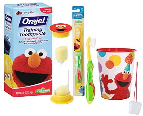 Sesame Street Toothbrush Toothpaste Mouthwash