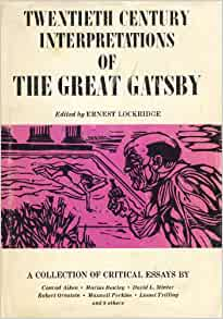Critical essays on the great gatsby donaldson