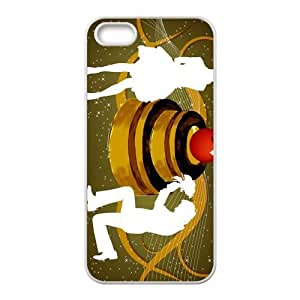 Custom Vector Back Cover Case for iphone5,5S JN5S-116