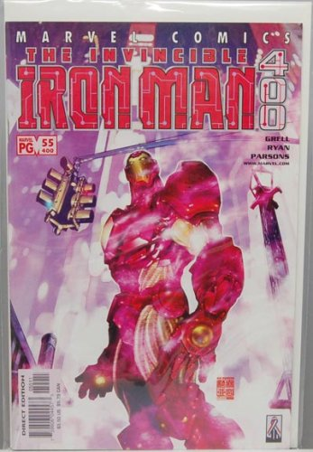 Iron Man #55 - Vol 3 2002 Marvel Comics Double Sized 400th (The Invincible Iron Man, Vol 3)
