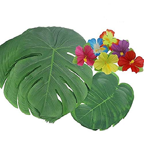 60 Pcs Tropical Party Decoration Supplies13