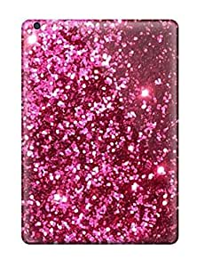 Glittery Pink Red Case Compatible With Ipad Air/ Hot Protection Case