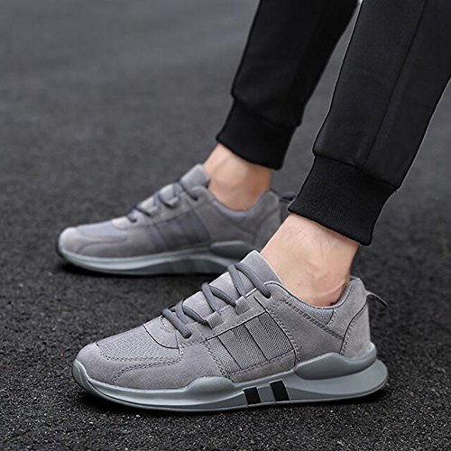 Men's Shoes Feifei Spring and Autumn Sports and Leisure Plate Shoes 3 Colors Gray XkpH06Hy