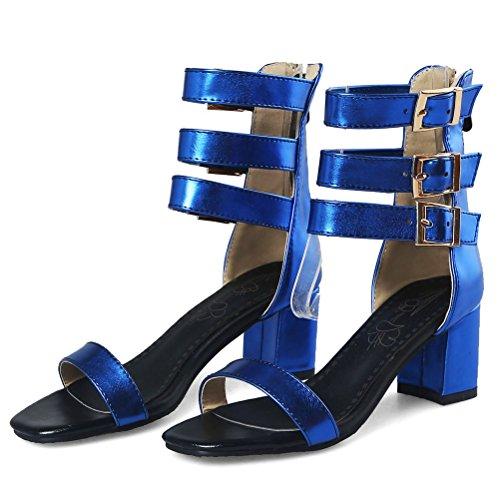 EU de Romana HiTime Mujer Color Talla Azul Charol 43 85pWTq