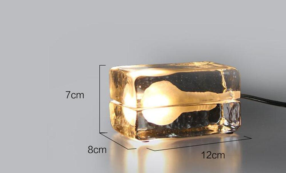 GBT Designer Moderne Einfache Nordische Mode Kreative Tischlampe Tischlampe Tischlampe Kristall Eis Tischlampe B071L7VWPW | Internationale Wahl  84e731