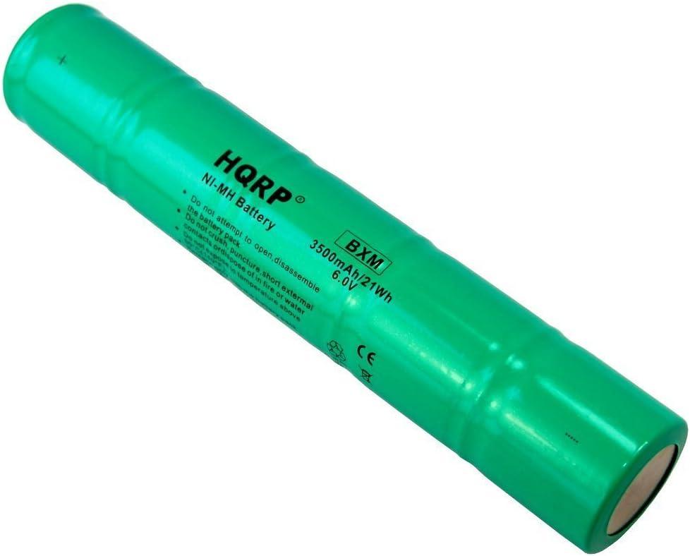 ML5000 N38AF008A Reemplazo ET2600D HQRP Bater/ía 1//2D 6V 3500mah para Maglite 40070249 ESR4EE3060
