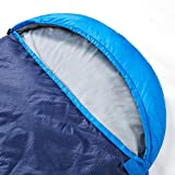 oaskys Camping Sleeping Bag - 3 Season Warm