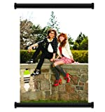 """Shake it Up TV Show Bella Thorne Zendaya Fabric Wall Scroll Poster (16"""" x 23"""") Inches"""