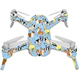 MightySkins Skin For Yuneec Breeze 4K - Puppy Party | Protective, Durable, and Unique Vinyl Decal wrap cover | Easy To Apply, Remove, and Change Styles | Made in the USA