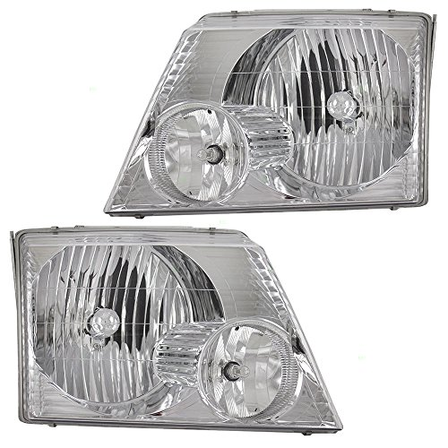 04 explorer headlight assembly - 1