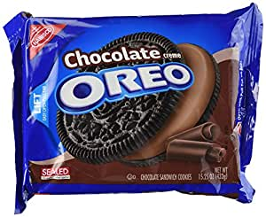 Oreo Chocolate Creme Cookies, 15.25 oz