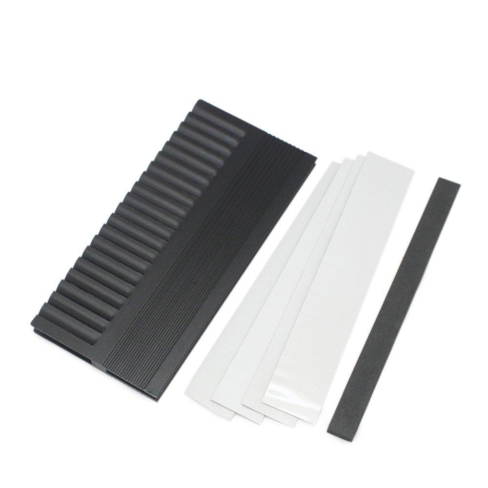 Aluminium Heatsink Heat Spreader Cooler Fin For PC Computer DDR RAM Memory Cooling