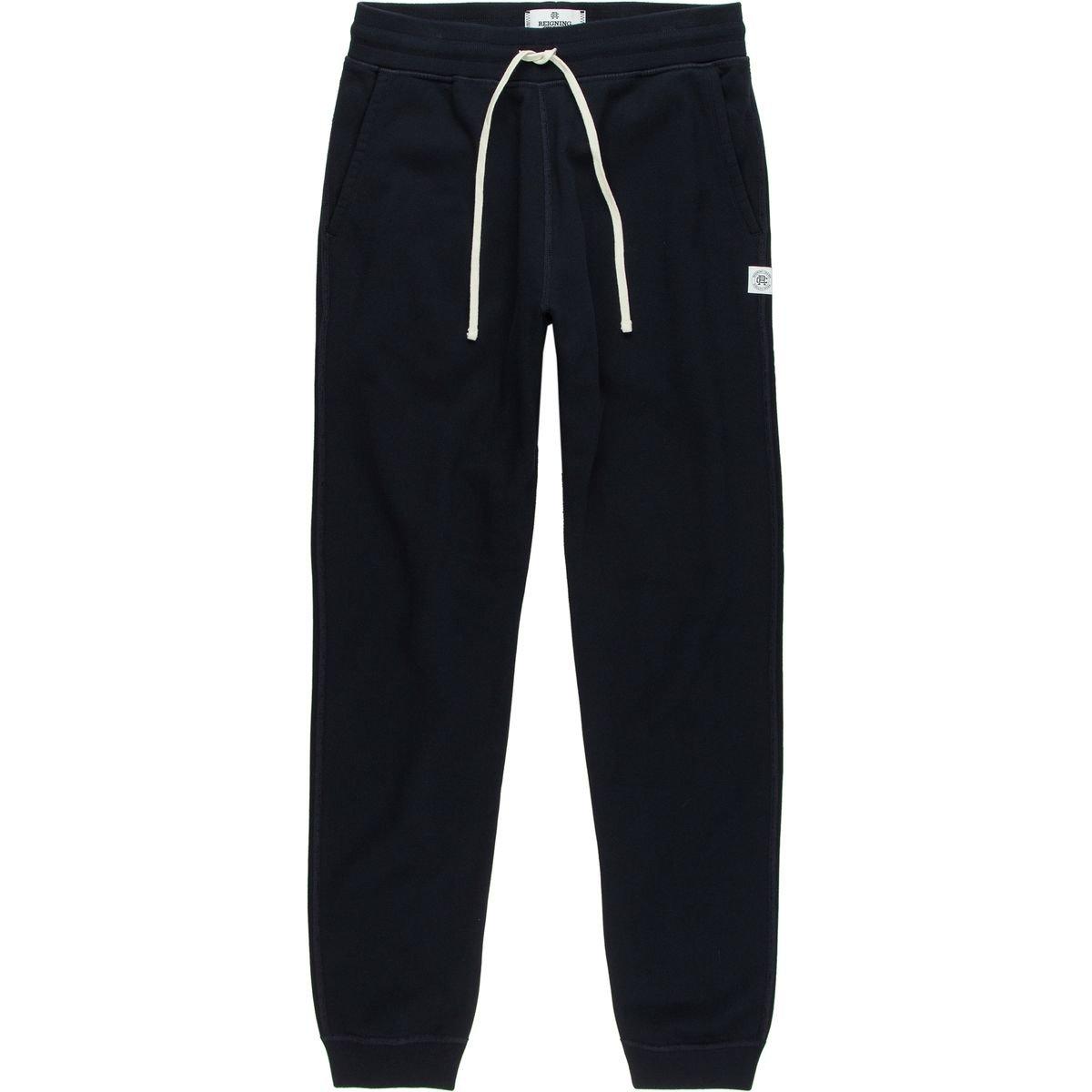 Reigning Champ Men's Terry Slim Sweatpants, Navy, X-Large