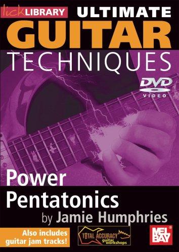 Ultimate Guitar Techniques - Power Pentatonics Dvd Guitar Lick Library