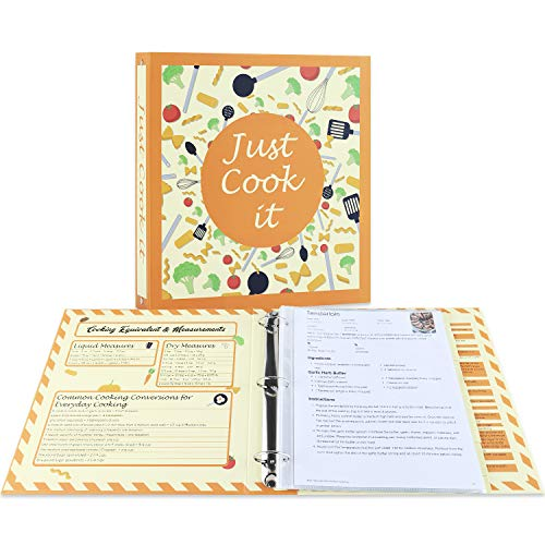 Full Page Recipe Binder Kit