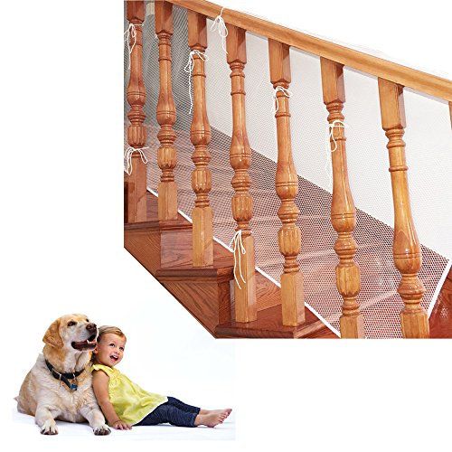 Indoor Thickened Balcony Stairs Railings Safety Net -10X2...