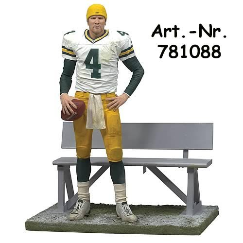 Brett Favre #4 Green Bay Packers Collector's Edition Collectible NFL McFarlane Detailed Sports Figure