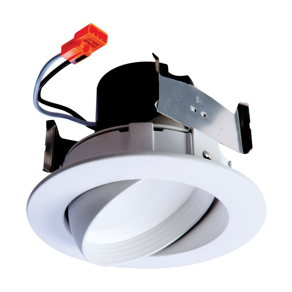 Halo Recessed RA406930WHR 4-Inch LED Adjustable Gimbal