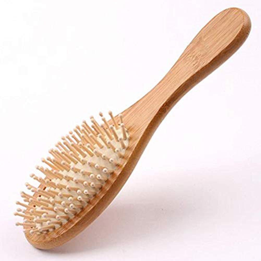 Cepillo Antiestático Natural de Bambú