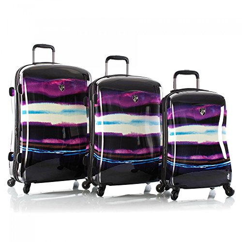 Frameless Expandable Luggage Set - Heys Viola Fashion Spinner Luggage Set