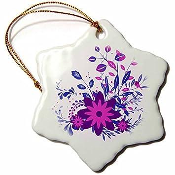 Amazon Ornaments To Paint Anne Marie Baugh Flowers Pretty