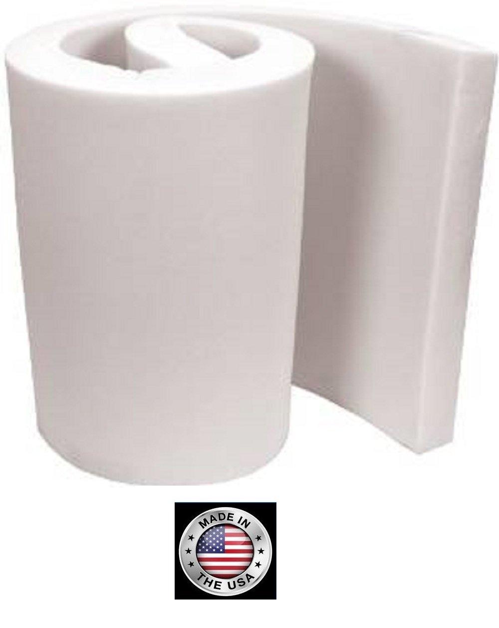FoamTouch Upholstery Foam Cushion, 3'' L x 30'' W x 72'' H, High Density