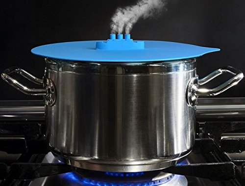 3 Piece Steam Ship Silicone Steaming Lid Pot Cover,Silicone Steamer Lid